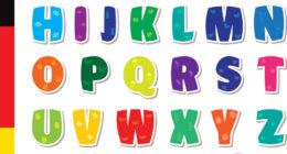تعليم الأطفال اللغة الالمانية-الحروف