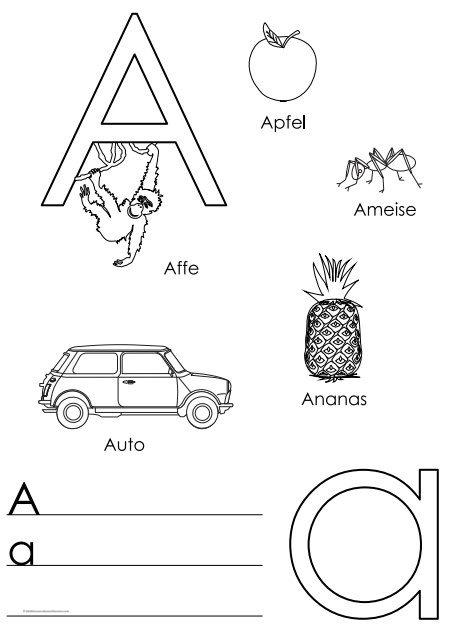 تدريب الأطفال على الحروف الألمانية كتابة pdf
