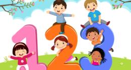 تعليم الأطفال الأرقام بالألمانى من 1 الى 100