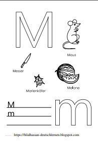كلمات تبدأ بحرف M للاطفال