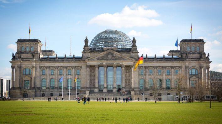 البرلمان الألمانى der Bundestag