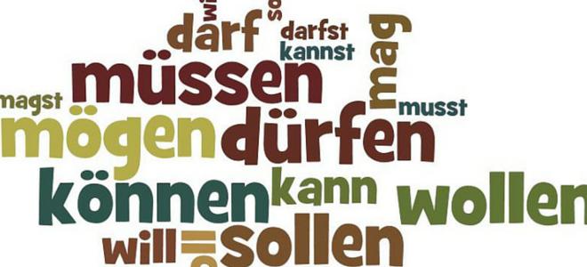 تصريف الأفعال الشكلية المساعدة die Modal Verben