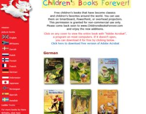 ChildrensBooksForever-الكتب الألمانية