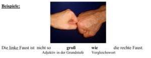 صفات المقارنة فى الألمانية