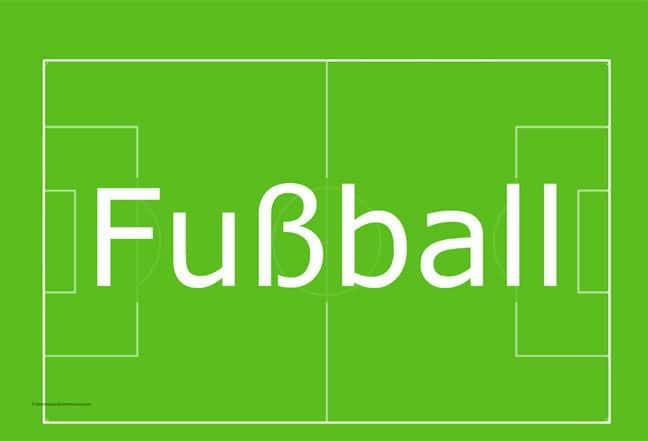 مفردات ألمانية عن كرة القدم وكأس العالم