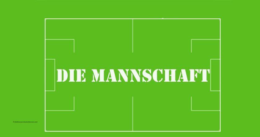 مفردات ألمانية عن فريق كرة القدم