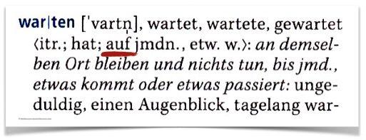 الأفعال الالمانية مع حروف الجر1