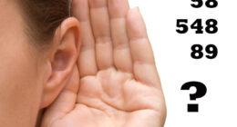 تمرين على فهم الأرقام الالمانية – تمرينات السماع A1