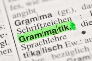 تمرينات القواعد الألمانية