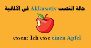 حالة النصب Akkusativ فى الألمانية