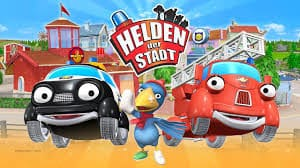 المسلسل الكارتون الألمانى Die Helden der Stadt أبطال المدينة