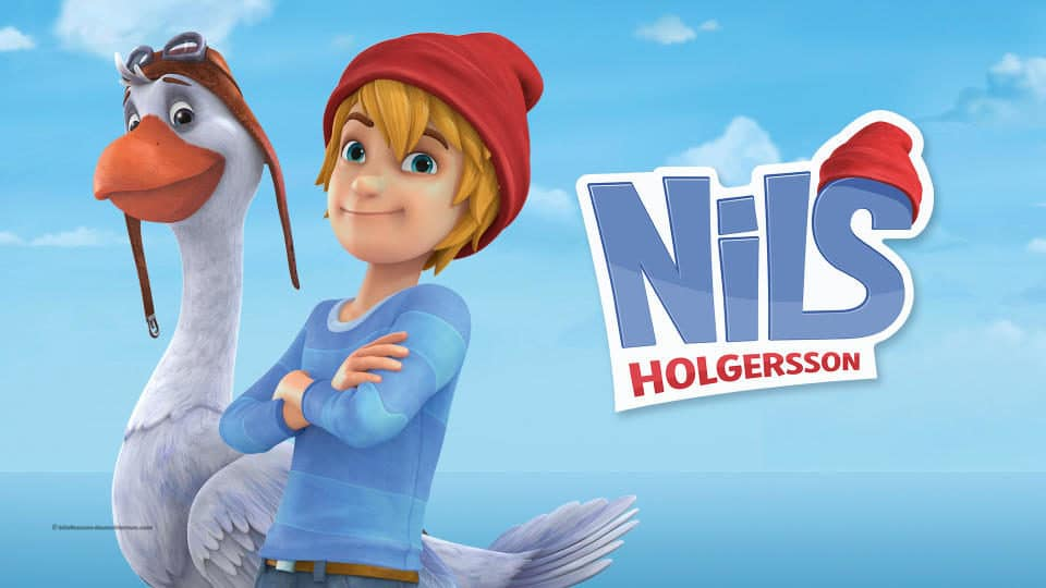 مسلسل الكارتون الألمانى Nils Holgersson نيلس هولجيرسون