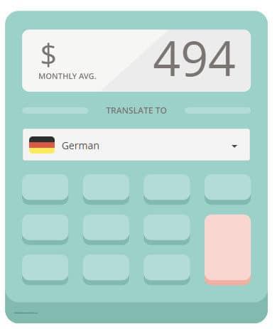 الأرباح الشهرية من موقع Gengo