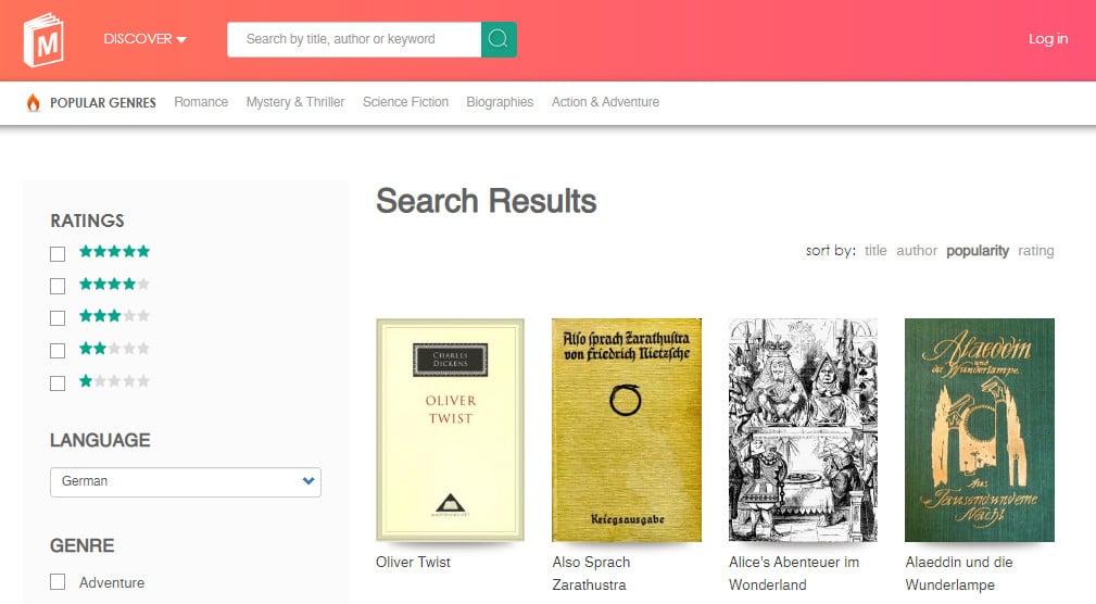 1 مواقع لـ تحميل كتب المانية مجانية