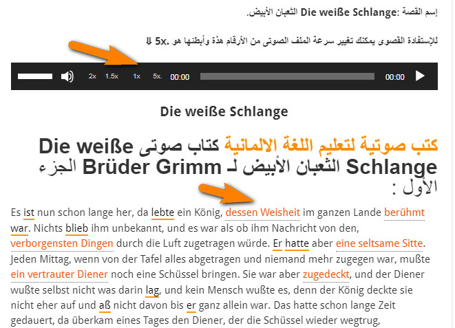 تعلم اللغة الألمانية من المنزل
