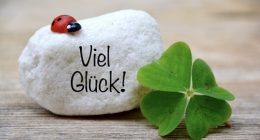 Viel Glück! حظ سعيد